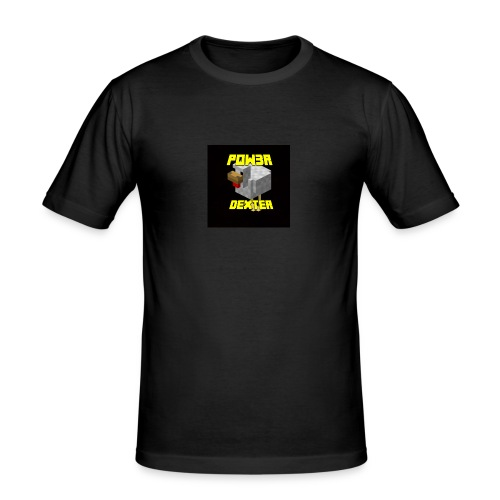 Pow3r - Maglietta aderente da uomo