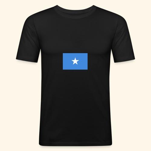 Somalia Flag - Herre Slim Fit T-Shirt