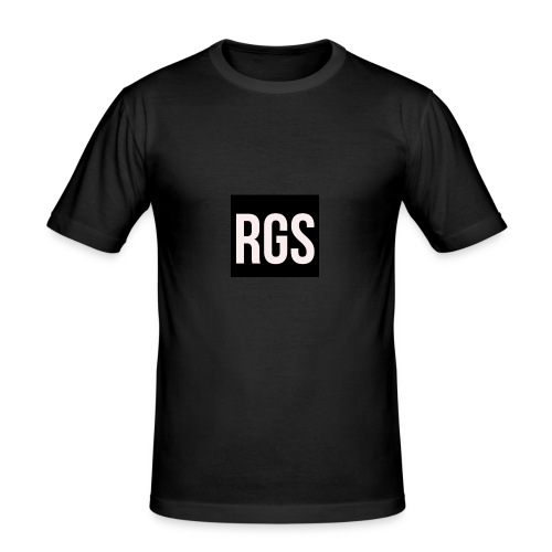 RGS_Profile_Logo - Men's Slim Fit T-Shirt