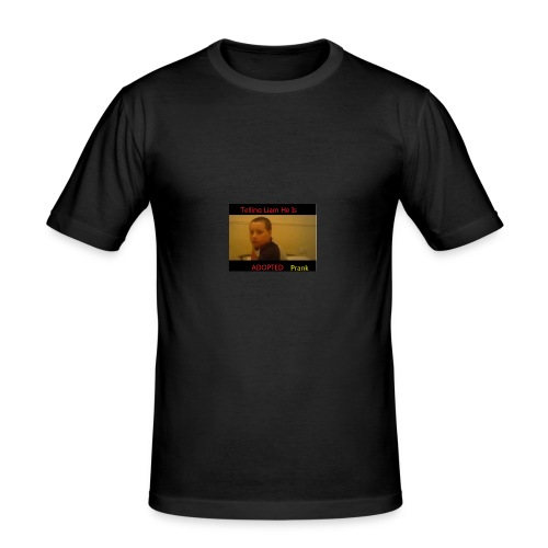 Telling Liam He Is Adopted - Men's Slim Fit T-Shirt