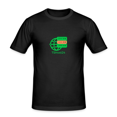 TSHost24 - Männer Slim Fit T-Shirt