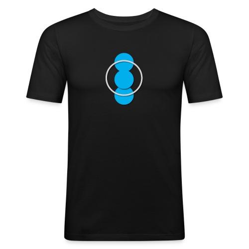 Circle - Men's Slim Fit T-Shirt