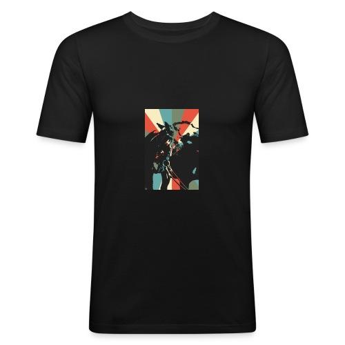 United for Bizzi - Männer Slim Fit T-Shirt