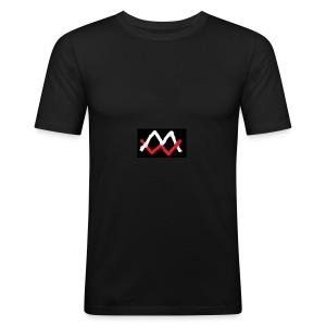 Malthe Würfel - Herre Slim Fit T-Shirt
