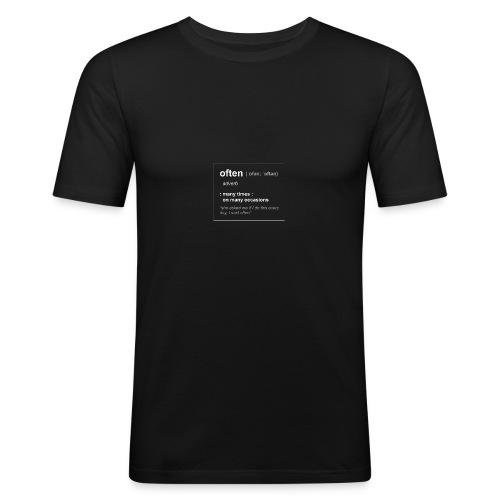 Define Often - Slim Fit T-shirt herr