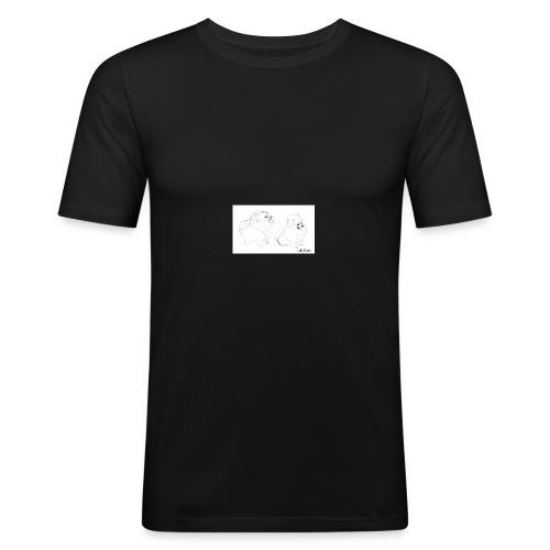 Artistic Yume - Maglietta aderente da uomo