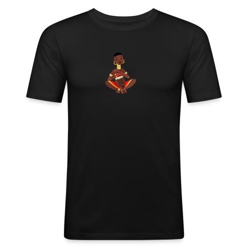 afrikan tee - Herre Slim Fit T-Shirt