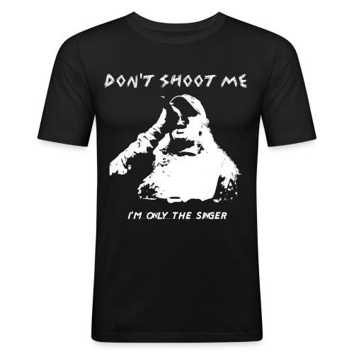 Only for Singers - Männer Slim Fit T-Shirt