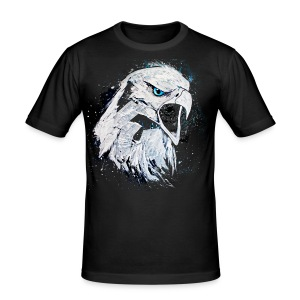 David Pucher Art Adler - Männer Slim Fit T-Shirt