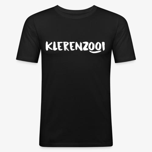 Zwarte mannencollectie - slim fit T-shirt
