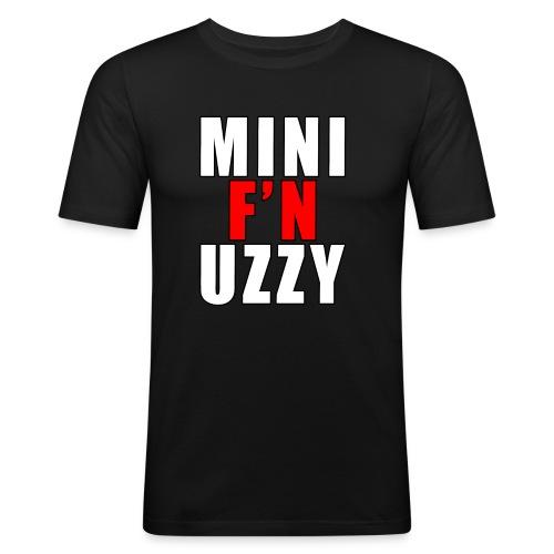 Mini F'N Uzzy - Men's Slim Fit T-Shirt