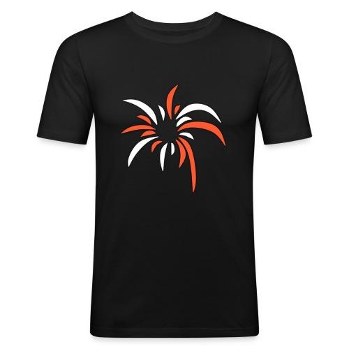 ExplosionsLogo - Männer Slim Fit T-Shirt