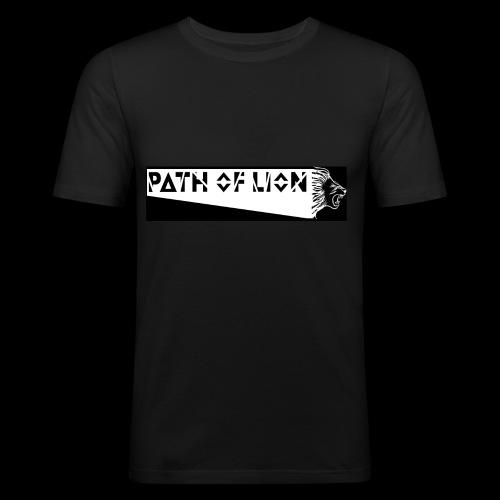 Path_of_Lion - Männer Slim Fit T-Shirt