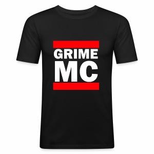 GRIME MC - Men's Slim Fit T-Shirt