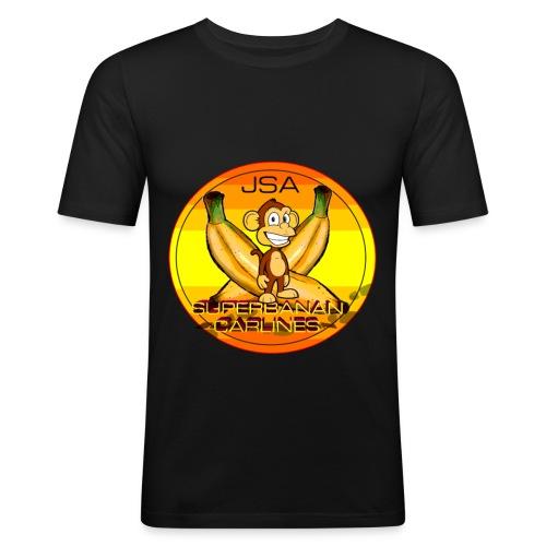 SUPERBANAN CARLINES: JSA - Slim Fit T-skjorte for menn