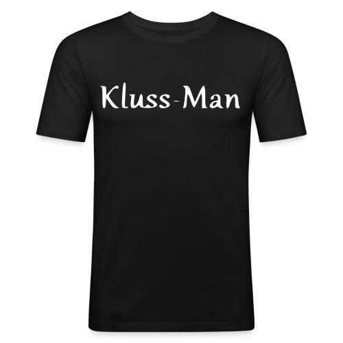 KlussMan - Männer Slim Fit T-Shirt
