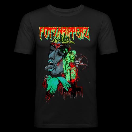 FOTZNRIPPERZ - Männer Slim Fit T-Shirt