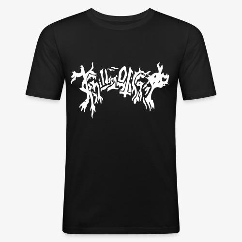 Obligatorisk plain logo - Slim Fit T-skjorte for menn