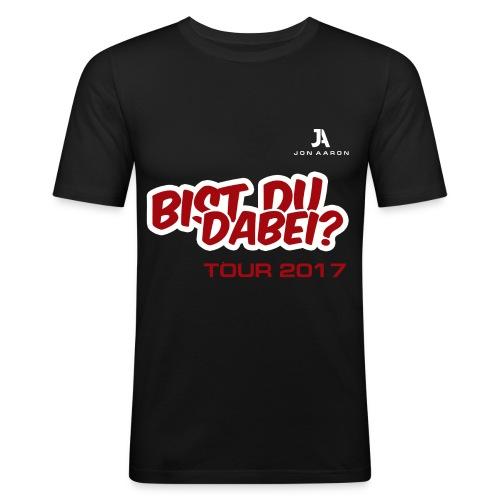 Bist du dabei? - Männer Slim Fit T-Shirt