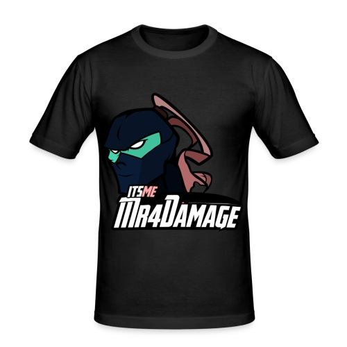 ItsMeMr4Damage - slim fit T-shirt