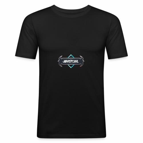 JanIstCool - Männer Slim Fit T-Shirt