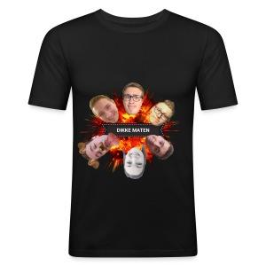 Dikke Maten boem - slim fit T-shirt
