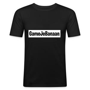 Design zwart wit - slim fit T-shirt