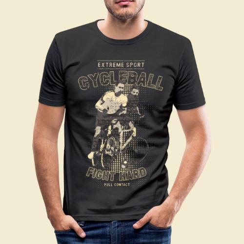 Radball | Fight Hard - Männer Slim Fit T-Shirt