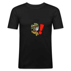 soldaat kat - slim fit T-shirt
