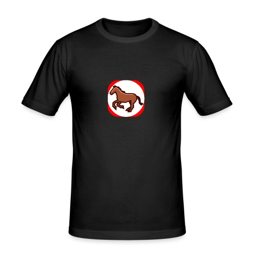 Pferd - Männer Slim Fit T-Shirt