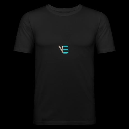 Standard-Logo - Männer Slim Fit T-Shirt