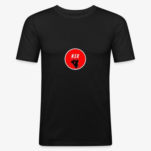 NSR loggo - Slim Fit T-shirt herr