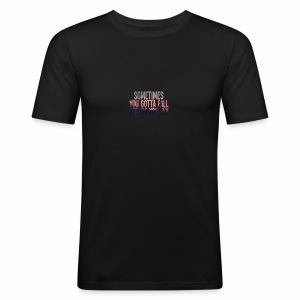 Fly - Slim Fit T-skjorte for menn