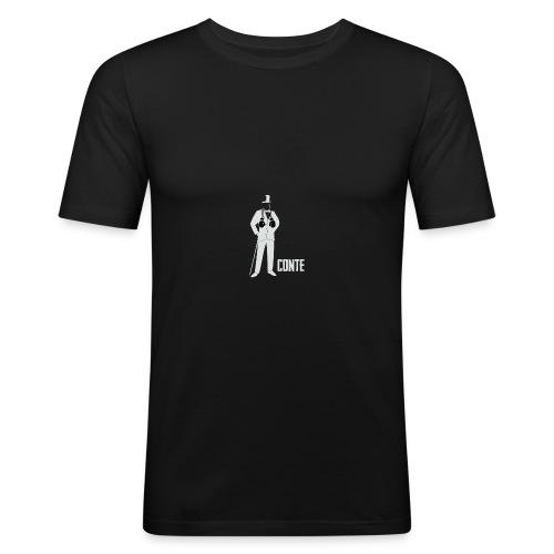 CONTE - Maglietta aderente da uomo