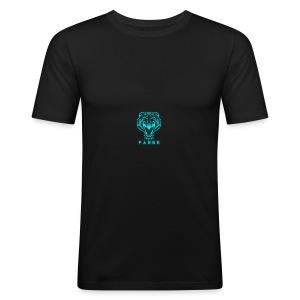 fabbe_png - Slim Fit T-skjorte for menn