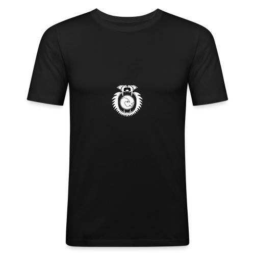 201609 Lion Wave Logo - Men's Slim Fit T-Shirt