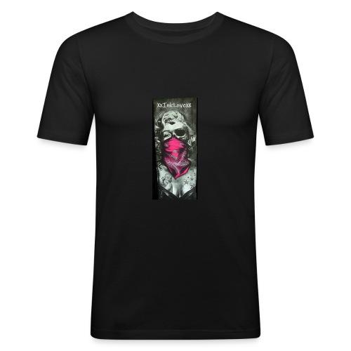 InkLove-Tattooprint - Männer Slim Fit T-Shirt