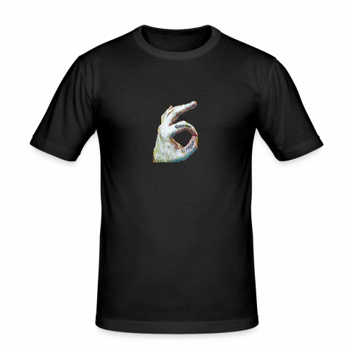 EMTRIIX Happens - Männer Slim Fit T-Shirt