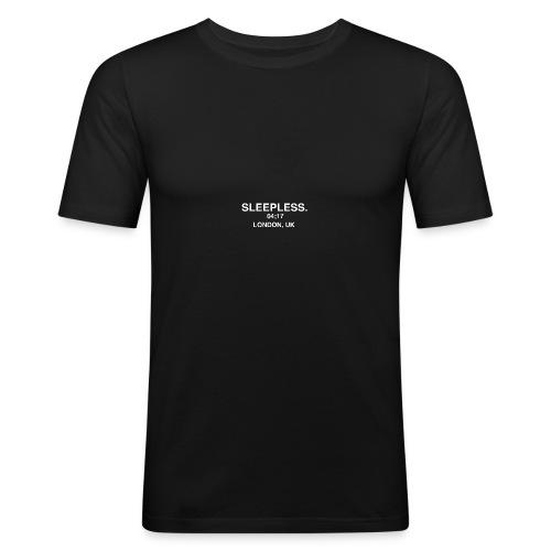 SLEEPLESS NIGHTS - Men's Slim Fit T-Shirt