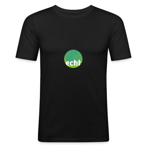 echt.cloppenburg Stadtmarke Grün - Männer Slim Fit T-Shirt