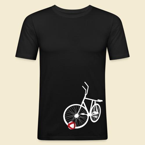 Radball | White - Männer Slim Fit T-Shirt