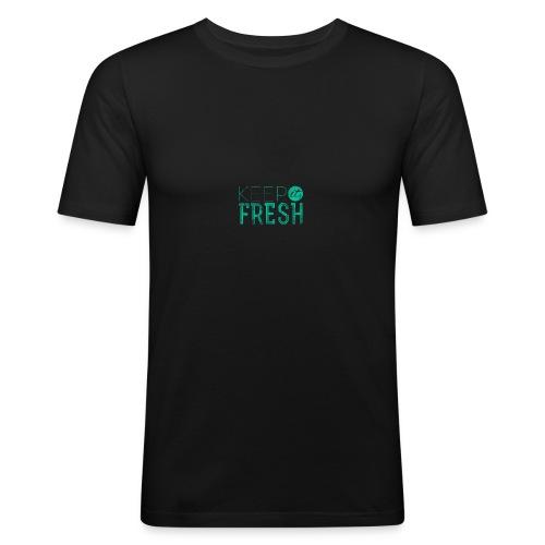 KEPP IT FRESH - Männer Slim Fit T-Shirt