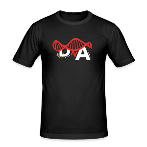 D&A LOGO - Men's Slim Fit T-Shirt