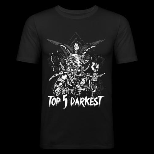 Top 5 Darkest - Men's Slim Fit T-Shirt
