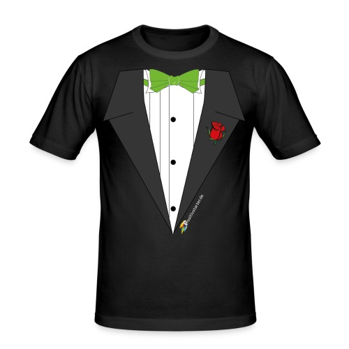 Gala Hero - Positivstarter Official Black Shirt - Männer Slim Fit T-Shirt