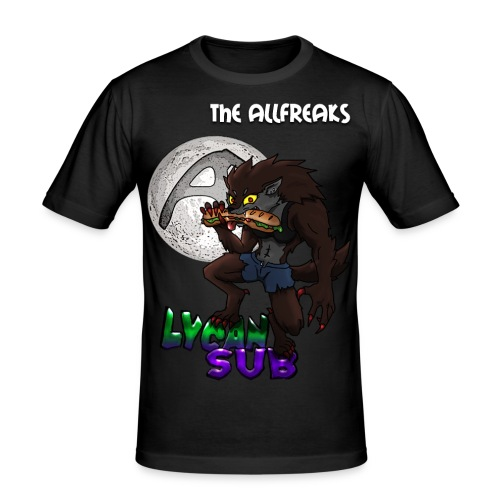 The AllFreaks | LycanSub - Men's Slim Fit T-Shirt