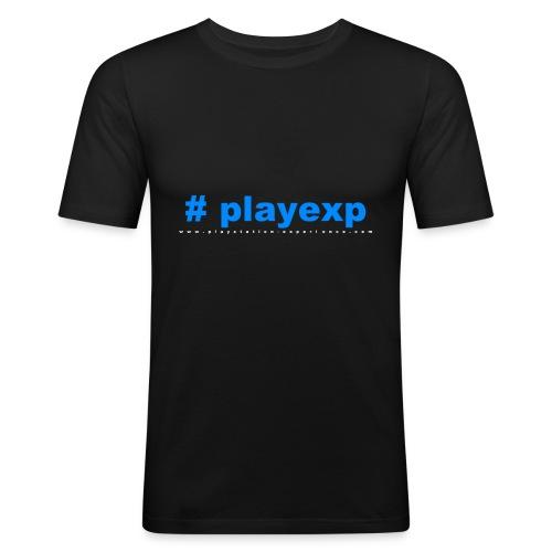 #playexp - Männer Slim Fit T-Shirt