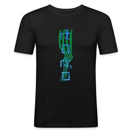Zero in Japenese - Herre Slim Fit T-Shirt