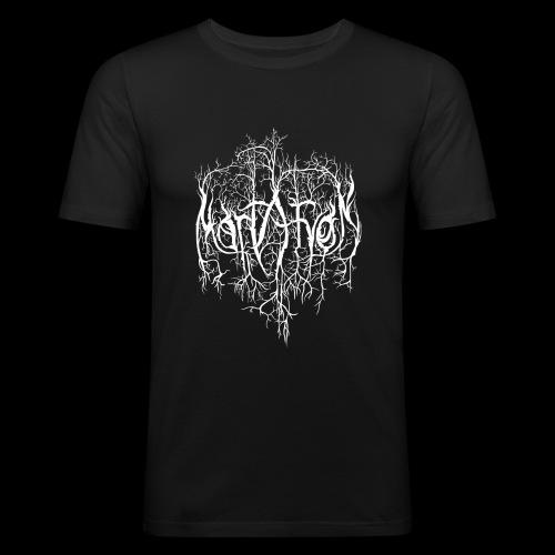Mortaryon Logo - Men's Slim Fit T-Shirt