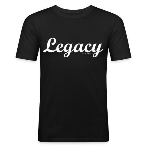 Legacy Dark - Men's Slim Fit T-Shirt
